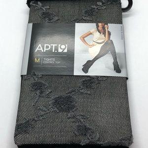 $5 💵 SALE Apt 9 Fashion tights floral medium M